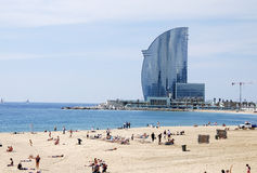 Barceloneta Beach. Stock Photography