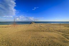 Barceloneta beach in Barcelona Stock Photography