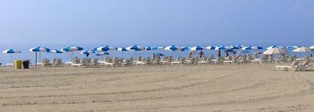 Barceloneta Beach in Barcelona, Spain Royalty Free Stock Photography