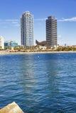 Barceloneta Beach Royalty Free Stock Photography