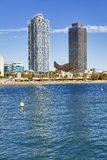 Barceloneta Beach Royalty Free Stock Image