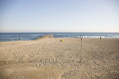 Barceloneta beach in Barcelona Stock Photos
