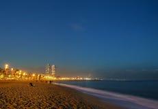 Barceloneta beach, Spain Royalty Free Stock Photography