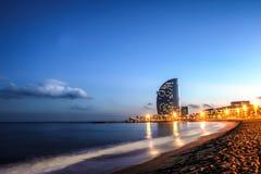 Barceloneta beach, Spain Stock Image