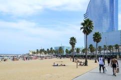 Barceloneta beach Royalty Free Stock Photo