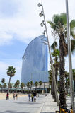 The Barceloneta beach Stock Photo