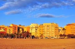 Barceloneta district, Barcelona Royalty Free Stock Image