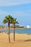 Barceloneta, Spain Royalty Free Stock Image