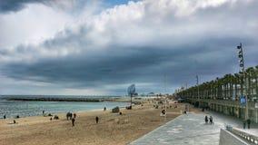 Barcelonetta Royaltyfri Fotografi