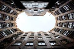 Barcelonian lägenhet Arkivfoto
