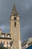 Barcelonnette (француз Альпы) стоковые фото