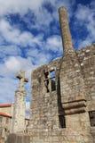 Barcelos Castle stock images