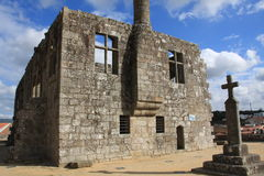 Barcelos Castle Stock Photography