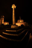 Barcelos Castle stock image