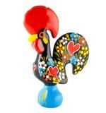 barcelosportugal rooster Royaltyfri Bild