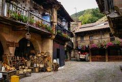 Barcena Maior, Asturia y坎塔布里亚,西班牙 免版税库存照片