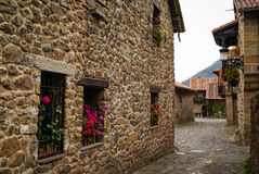 Barcena Maior, Asturia y Cantabria, Spain Stock Photo
