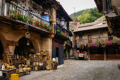 Barcena Maior, Asturia y Cantabria, Spain Royalty Free Stock Photos