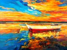 Barche illustrazione di stock