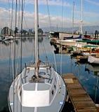 Barche al porticciolo Fotografia Stock