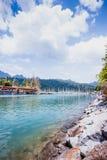 Barche al porto Fotografie Stock