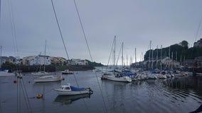 Barche al porto Fotografia Stock