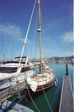 Barche al porto CA di Sausalito Immagine Stock