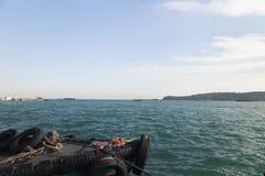 Barche all'attracco Immagine Stock