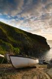 Barche attraccate fotografia stock libera da diritti