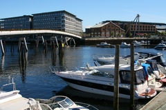 Barche in bacino. Immagine Stock Libera da Diritti