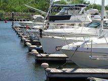 Barche in bacino Fotografia Stock