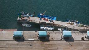 Barche a Barcellona Fotografie Stock