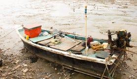 Barche con il mare Fotografia Stock Libera da Diritti
