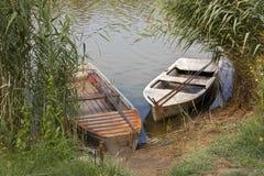 Barche consumate Fotografia Stock Libera da Diritti