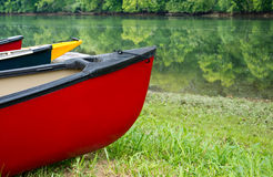 Barche da River Fotografia Stock