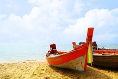 Barche del pescatore Fotografia Stock Libera da Diritti