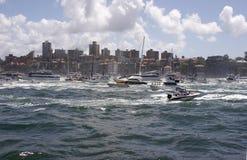 Barche del porto Fotografie Stock Libere da Diritti
