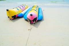 Barche di banana Immagine Stock