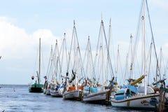 Barche di Belize Fotografia Stock Libera da Diritti