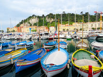 Barche di colore Fotografie Stock