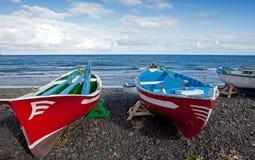 Barche di Colourfull Immagine Stock Libera da Diritti