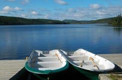 Barche di fila Fotografia Stock Libera da Diritti