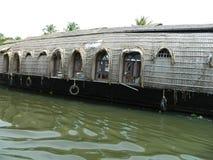 Barche di fiume in India del sud Immagini Stock Libere da Diritti