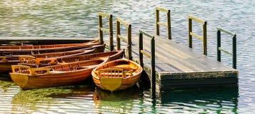 Barche di legno Immagini Stock Libere da Diritti