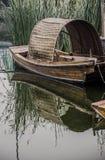 Barche di legno, Jiangsu Immagine Stock Libera da Diritti