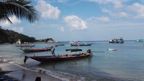 Barche di Longtail fotografie stock libere da diritti