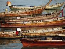 Barche di Longtail Immagine Stock Libera da Diritti