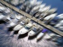 Barche di lusso Immagini Stock