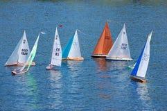 Barche di modello Fotografie Stock
