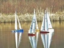 Barche di modello Immagini Stock
